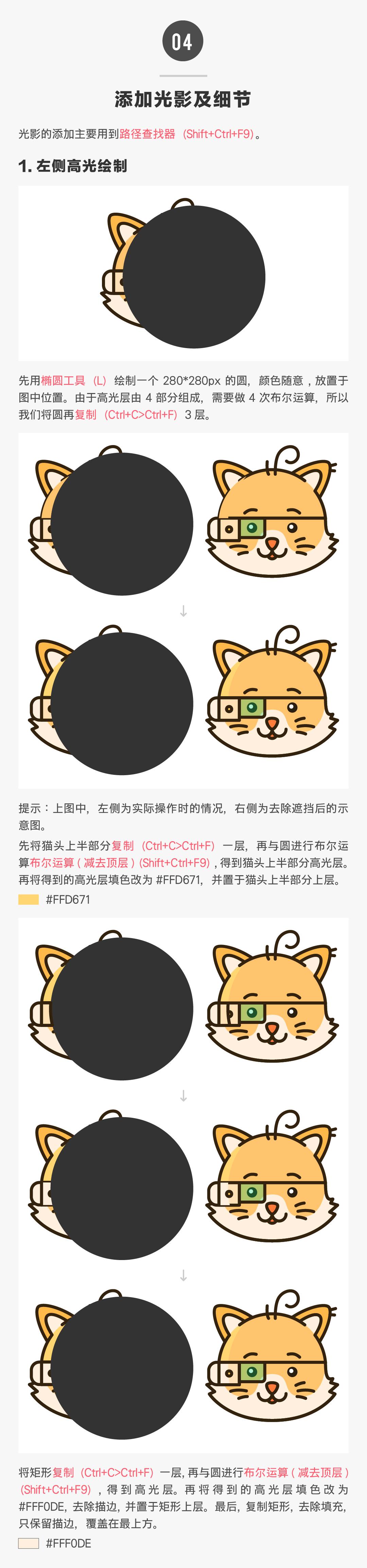 Illustrator详解卡通图形的描边技巧,PS教程,素材中国网